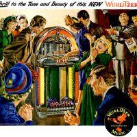 Wurlitzer ~ Jukebox Adverts [1947] Illustrated by Albert Dorne