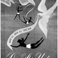 "Luxuray ""Dove Skin Undies"" ~ Lingerie Adverts [1947-1948] Illustrations"