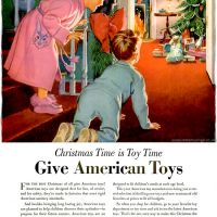 American Made Toys ~ Christmas Toy Adverts [1950]