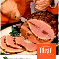 Meat! ~ Christmas Food Adverts [1951-1959]