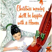 Vacuum Cleaners ~ Christmas Electrical Adverts [1951-1959]