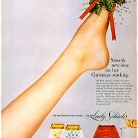 Schick ~ Christmas Shaving Adverts [1950-1958]