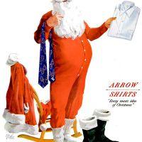 Menswear ~ Christmas Fashion Adverts [1951-1959]