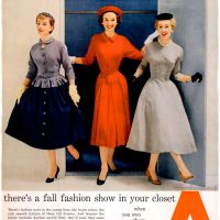 Acrilan ~ Womenswear Adverts [1954]