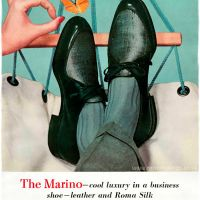 """Roblee"" Brown Shoe Company ~ Men's Shoe Adverts [1955-1958]"
