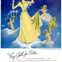 Textron ~ Lingerie Adverts [1945-1949] Illustrations by C.J. Sternberg