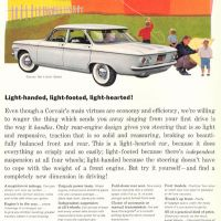 "Chevrolet ""Corvair"" ~ Car Adverts [1960]"