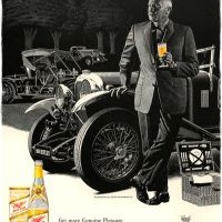 "Miller ""High Life"" ~ Ale Adverts [1959-1960] Illustrated by John McCormack"