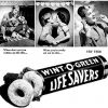 Life Savers ~ Breath Freshener Adverts [1942-1947]