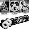 Life Savers ~ Breath Freshener Adverts [1942-1947]