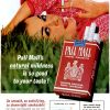 Pall Mall [1962-1963] Cigarette Adverts ~ Natural Mildness