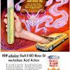 "Shell ""X-100"" Motor Oil ~ Car Maintenance Adverts [1951-1952] Illustrated by Boris Artzybasheff"