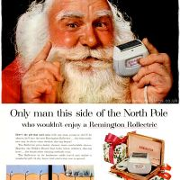 Norelco & Remington ~ Christmas Shaving Adverts [1954-1959]