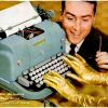"Underwood ""Golden Touch"" ~ Typewriter Adverts [1956-1958]"