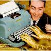 """Underwood """"Golden Touch"""" ~ Typewriter Adverts [1956-1958]"""