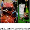 "Seven-Up ~ Soda Adverts [1965] ""Where There's Action"""