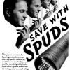 Spud ~ Cigarette Adverts [1939-1940]