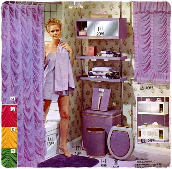 Christmas Bathroom Accessories Uk: Fur-tastic Bathroom Accessories Of The 1970's