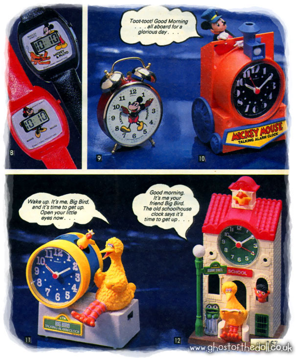 Children's Character Watches ~ Catalogues [1980's]   Retro Musings