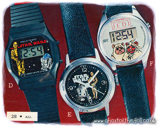 Children S Character Watches Catalogues 1980 S Retro