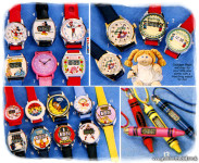 Children's Character Watches [1980's]
