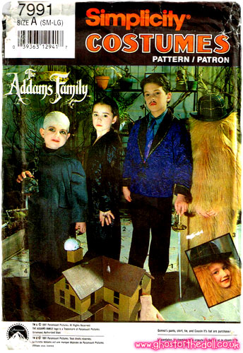 Children S Character Costume Sewing Patterns 1980 S 1990