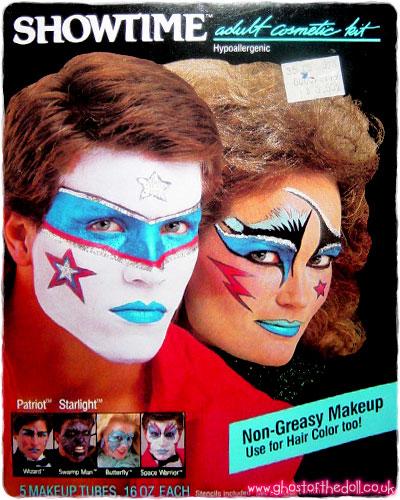 Showtime Adult Halloween Makeup Kits ~ Adverts [1980\'s] – Retro ...