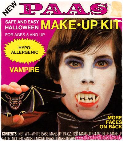 halloween makeup kit for kids. paas \u2013 halloween make-up kits ~ packaging \u0026 adverts [1980\u0027s] makeup kit for kids
