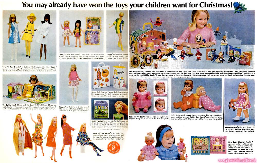 Mattel S Million Dollar Christmas Sweepstakes 1967