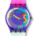 Swatch Watch ~ Geometric Designs [1980's-1990's]