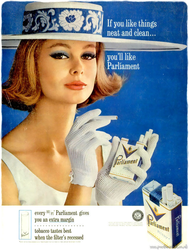Parliament [1961-1963] Cigarette Adverts | Retro Musings