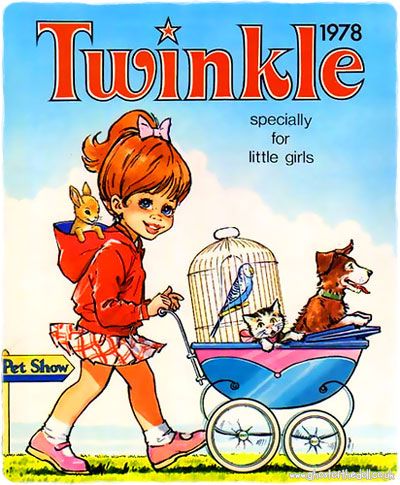 Specially For Little Girls Twinkle Annuals 1970 S 2000 S Retro Musings