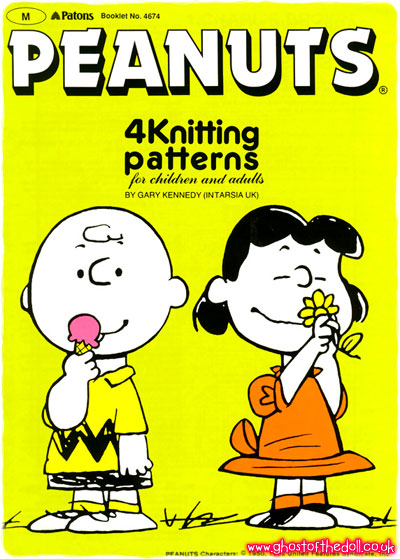Intarsia Cartoon Sweater Knitting Patterns 1980s 1990 S