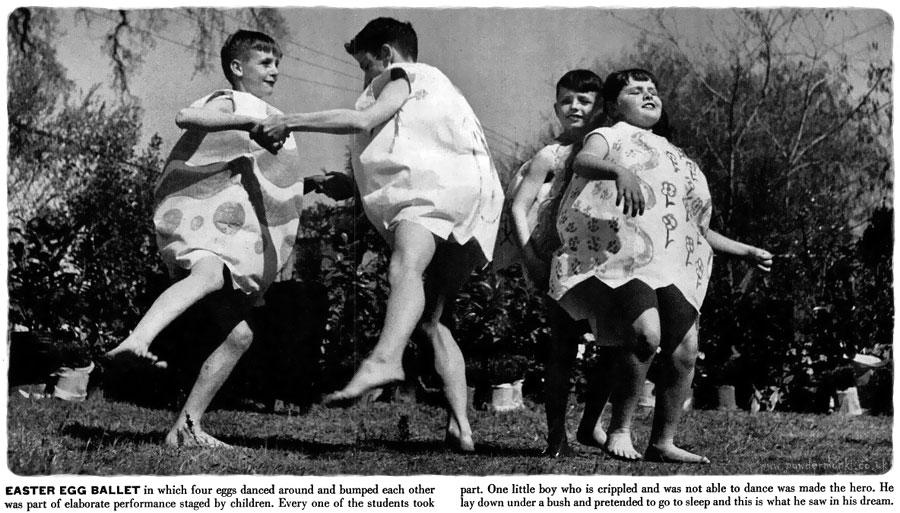 Vintage Easter Egg Hunt [Life, 1949] | Retro Musings