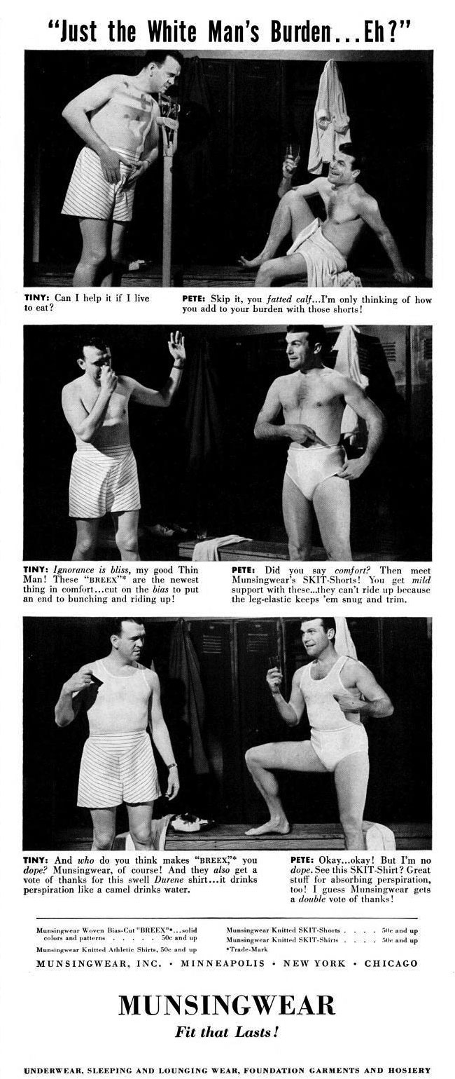 ac56075b8b3 Munsingwear ~ Underwear Adverts  1939-1945