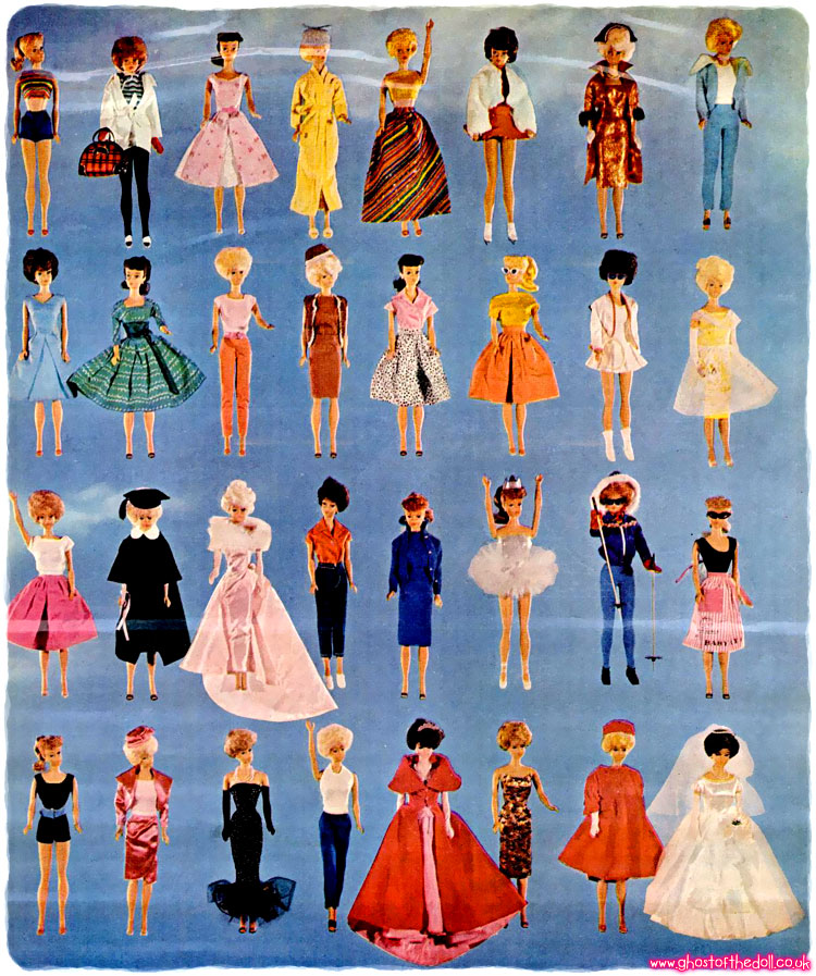 Barbie The Most Popular Doll In Town Life 1963