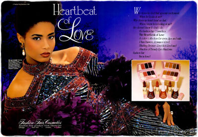 Fashion Fair Cosmetics ~ Makeup Adverts [1980-1989 ...