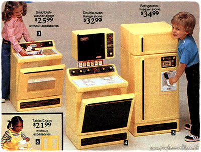 Boys Finally Made And Appearance In 1979, With A Continued Smattering  Throughout The 1980u0027s. This Decade Was All About Having Fun In Play Kitchens .