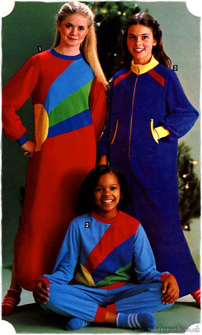 children�s nightwear catalogues 1980�s retro musings