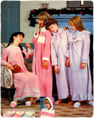 Children S Nightwear Catalogues 1980 S Retro Musings