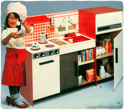 toy kitchen sets ~ catalogues [1960's-1980's] – retro musings