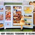 """Kelvinator ~ Kitchen Appliance Adverts [1954-1959] """"Foodarama"""""""