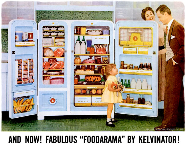 Kelvinator Kitchen Appliance Adverts 1954 1959