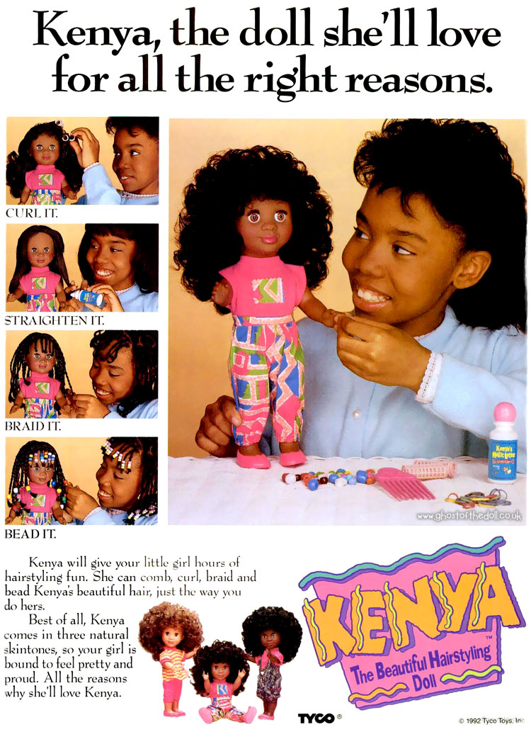 Kenya Doll By Tyco Adverts 1990 S Retro Musings