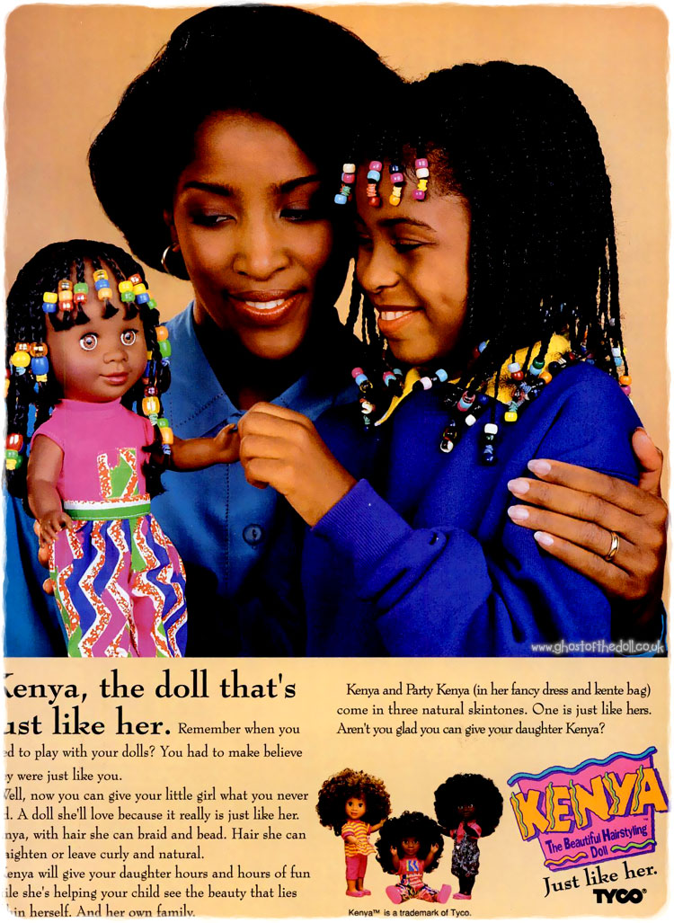 Family Party Games >> Kenya Doll by Tyco ~ Adverts [1990's] | Retro Musings