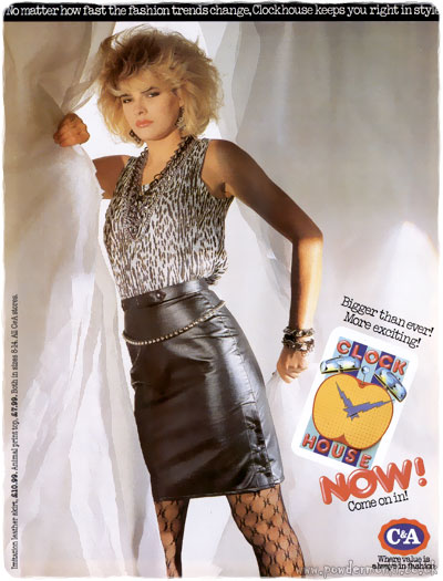 C Amp A Womenswear Adverts 1983 1985 Clock House Retro