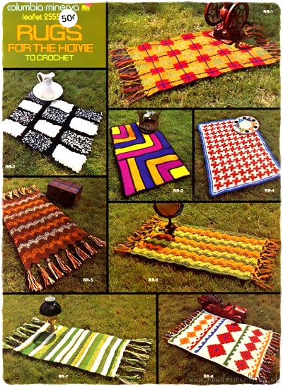 Knitting Household Items : Columbia minerva knitting leaflets gifts household