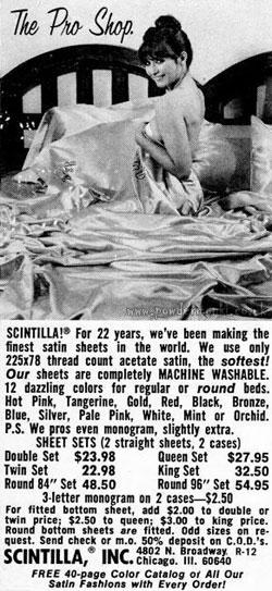 Scintilla Satin Sheets Adverts 1970 S Retro Musings