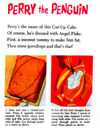 Baker S Coconut Animal Cut Up Cakes  Booklet