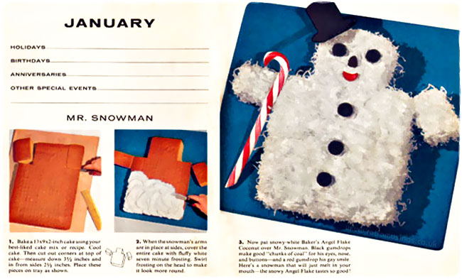This Little Animal Cake Booklet From Bakers Coconut Was Published In 1956 By General Foods Corp They Were All Decorated With Angel Flakes And One
